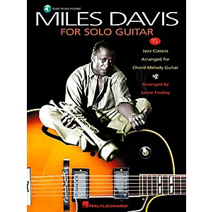 Hal-Leonard-Miles-Davis-For-Solo-Guitar-Book-CD-Standard