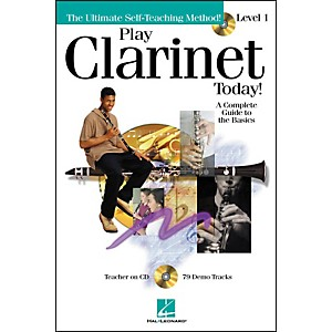 Hal-Leonard-Play-Clarinet-Today--Level-1-CD-Pkg-Standard