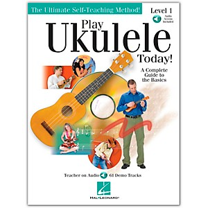 Hal-Leonard-Play-Ukulele-Today--Level-One-Book-CD-9X12-Standard
