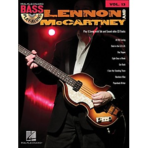 Hal-Leonard-Lennon---McCartney---Bass-Play-Along-Volume-13-Standard