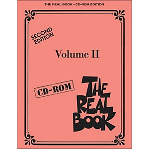 Hal-Leonard-The-Real-Book-Volume-2-Second-Edition-C-Instruments-CD-Rom-Pkg-Standard