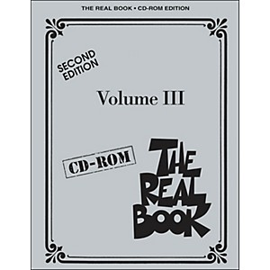 Hal-Leonard-The-Real-Book-Volume-3-Second-Edition-C-Instruments-CD-Rom-Standard