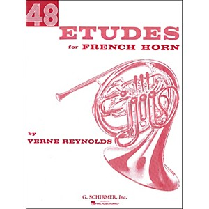G--Schirmer-48-Etudes-For-French-Horn-Standard