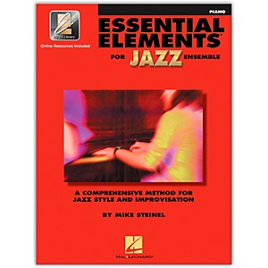 Hal-Leonard-Essential-Elements-For-Jazz-Ensemble-Piano-Book-2CD-Standard