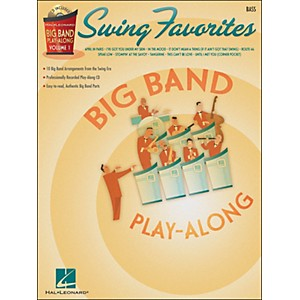 Hal-Leonard-Swing-Favorites-Big-Band-Play-Along-Vol--1-Bass-Book-CD-Standard