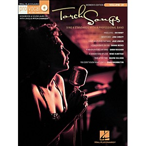 Hal-Leonard-Torch-Songs-Volume-29-Book-CD-Women-s-Edition-Pro-Vocal-Series-Standard