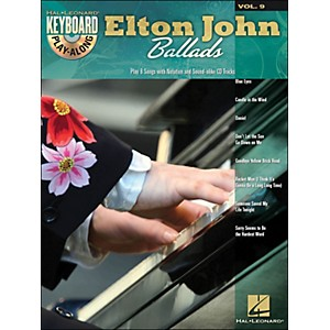 Hal-Leonard-Elton-John-Ballads---Keyboard-Play-Along-Volume-9--Book-CD--Standard