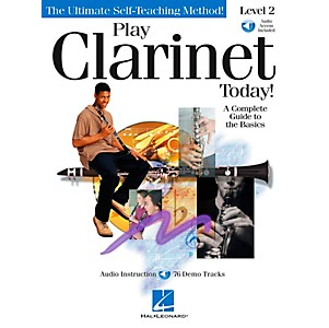 Hal-Leonard-Play-Clarinet-Today--Level-2-CD-Pkg-Standard