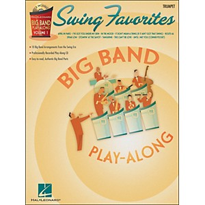 Hal-Leonard-Swing-Favorites-Big-Band-Play-Along-Vol--1-Trumpet-Book-CD-Standard
