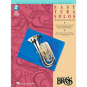 Hal-Leonard-Canadian-Brass-Easy-Tuba-Book-CD-Standard
