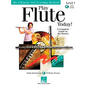 Hal-Leonard-Play-Flute-Today--Level-1-Book-CD-Standard