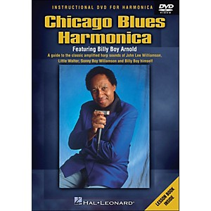 Hal-Leonard-Chicago-Blues-Harmonica-DVD---Featuring-Billy-Boy-Arnold-Standard
