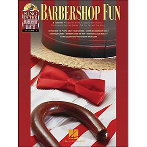 Hal-Leonard-Barbershop-Fun---Sing-In-The-Barbershop-Quartet-Series-Vol--1-Book-CD-Standard