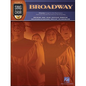 Hal-Leonard-Broadway---Sing-With-The-Choir-Series-Volume-2-Book-CD-Standard