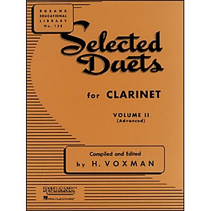 Hal-Leonard-Rubank-Selected-Duets-Clarinet-Vol-2-Advanced-Standard