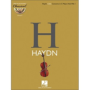Hal-Leonard-Haydn--Cello-Concerto-In-C-Major--Hob--Viib--1-Classicalplay-Along-Book-CD-Vol--9-Standard