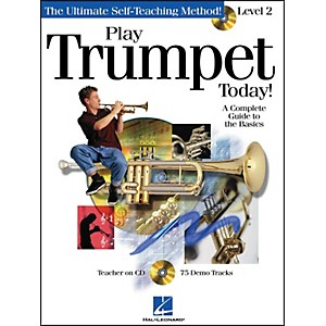 Hal-Leonard-Play-Trumpet-Today--Level-2-Book-CD-Standard