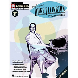 Hal-Leonard-Classic-Duke-Ellington-Book-CD-10-Jazz-Favorites-Volume-41-Jazz-Play-Along-Standard