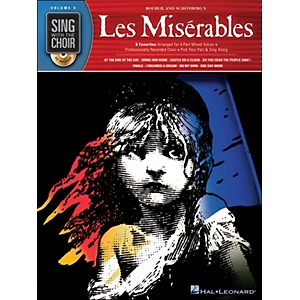 Hal-Leonard-Les-Miserables---Sing-With-The-Choir-Series-Vol--9-Book-CD-Standard