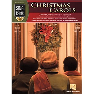 Hal-Leonard-Christmas-Carols---Sing-With-The-Choir-Series-Vol--13-Book-CD-Standard