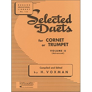 Hal-Leonard-Rubank-Selected-Duets-For-Cornet-Or-Trumpet-Vol-2-Standard