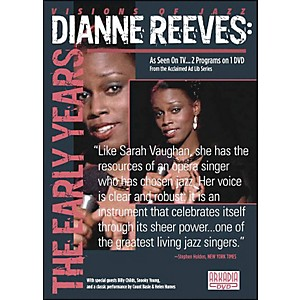 Hal-Leonard-Dianne-Reeves--The-Early-Years-DVD-Standard