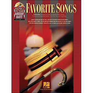 Hal-Leonard-Favorite-Songs---Sing-In-The-Barbershop-Quartet-Series-Vol--3-Book-CD-Standard