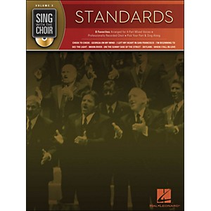 Hal-Leonard-Standards---Sing-With-The-Choir-Series-Volume-3-Book-CD-Standard