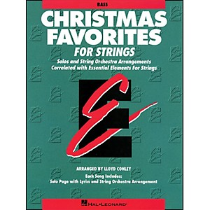Hal-Leonard-Christmas-Favorites-String-Bass-Essential-Elements-Standard