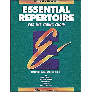 Hal-Leonard-Essential-Repertoire-For-The-Young-Choir-Level-One--1--Tenor-Bass-Student-Standard