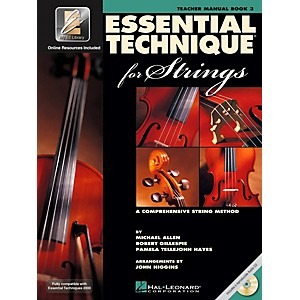 Hal-Leonard-Essential-Technique-2000-For-Strings-Teacher-s-Manual-Book-CD-Standard