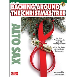 Cherry-Lane-Baching-Around-The-Christmas-Tree--Alto-Sax--Book-CD-Standard