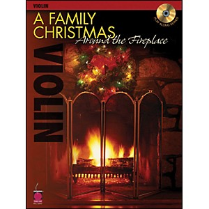 Cherry-Lane-A-Family-Christmas-Around-The-Fireplace-For-Violin-Book-CD-Standard