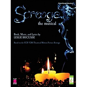 Cherry-Lane-Scrooge---The-Musical-arranged-for-piano--vocal--and-guitar--P-V-G--Standard