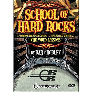 Centerstream-Publishing-School-Of-Hard-Rocks--A-Working-Drummers-Guide-To-Real-World-Drumming--2-Dvd-Set--Standard