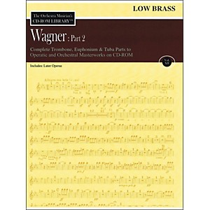 Hal-Leonard-Orchestra-Musician-s-CD-Rom-Library-Vol-12-Wagner-Part-2-Low-Brass-Standard