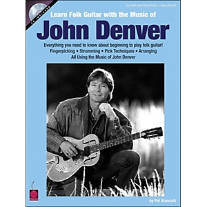 Cherry-Lane-Learn-Folk-Guitar-With-The-Music-Of-John-Denver-Book-CD-Standard