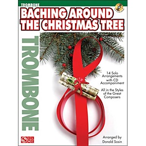 Cherry-Lane-Baching-Around-The-Christmas-Tree--Trombone--Book-CD-Standard