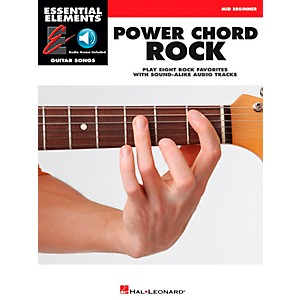 Hal-Leonard-Power-Chord-Rock---Essential-Elements-Guitar-Songs--Book-CD--Mid-Beginner-Standard