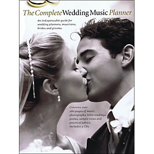 Music-Sales-The-Complete-Wedding-Music-Planner--Book-3-CD-Pkg--arranged-for-piano--vocal--and-guitar--P-V-G--Standard