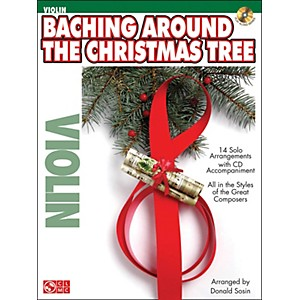 Cherry-Lane-Baching-Around-The-Christmas-Tree--Violin--Book-CD-Standard