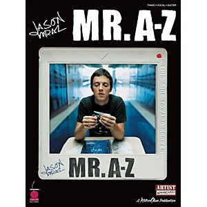 Cherry-Lane-Jason-Mraz---Mr--A-Z-arranged-for-piano--vocal--and-guitar--P-V-G--Standard