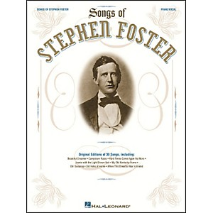 Hal-Leonard-Songs-Of-Stephen-Foster-arranged-for-piano--vocal--and-guitar--P-V-G--Standard