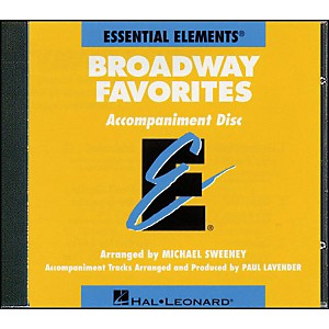 Hal-Leonard-Broadway-Favorites---CD-Essential-Elements-Band-CD-Accompaniment-Standard