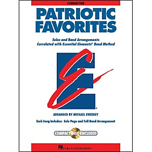 Hal-Leonard-Patriotic-Favorites-Cond-Book-CD-Standard