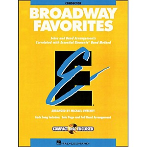 Hal-Leonard-Broadway-Favorites-Conductor-Essential-Elements-Band-Conductor-Book-CD-Standard