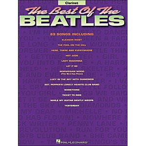 Hal-Leonard-Best-Of-The-Beatles-For-Clarinet-Standard