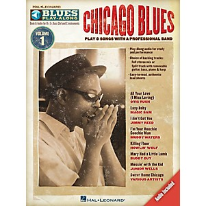Hal-Leonard-Chicago-Blues---Blues-Play-Along-Volume-1--Book-CD--Standard