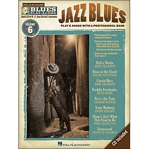 Hal-Leonard-Jazz-Blues---Blues-Play-Along-Volume-6--Book-CD--Standard