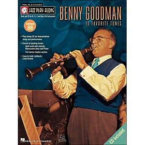 Hal-Leonard-Benny-Goodman---Jazz-Play-Along--Volume-86--CD-Pkg---Standard